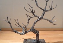 L'arbre de Pierre, acier soudé